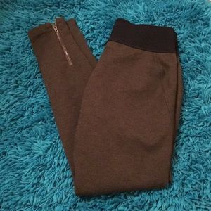 LOFT Knit Moto Leggings